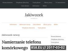 Miniaturka domeny www.jakiwozek.pl