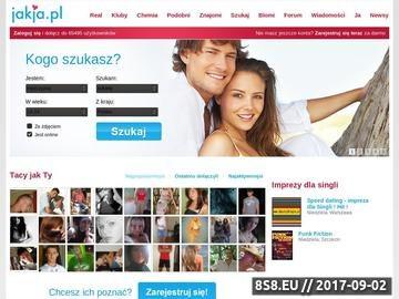 Zrzut strony Portal randkowy
