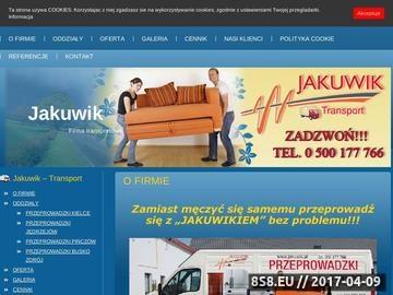 Zrzut strony Tanie przeprowadzki w Kielcach