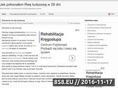 Miniaturka domeny jakwyleczylemrwekulszowa.pl