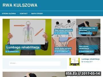 Zrzut strony Rwa kulszowa wyleczona w 28 dni, bez operacji