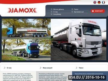 Zrzut strony Transport płynnych artykułów - Jamox ze Strzelna