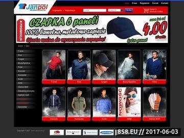 Zrzut strony Janpol.info.pl - bluzy polarowe