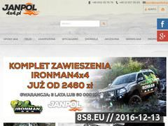 Miniaturka domeny www.janpol4x4.pl