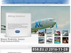 Miniaturka domeny www.janustravel.pl