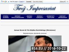 Miniaturka domeny januszszrom.twoj-impresariat.pl