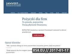 Miniaturka domeny www.janvest.pl