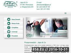 Miniaturka domeny japa-przeprowadzki.com.pl