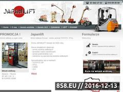Miniaturka domeny www.japanlift.pl