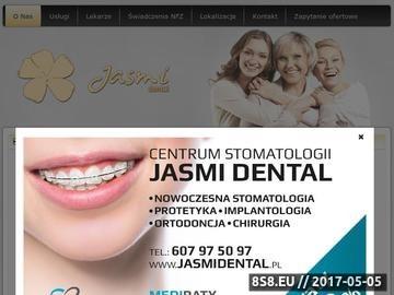 Zrzut strony Klinika Stomatologiczna Brzeg Dolny