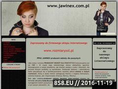 Miniaturka domeny www.jawinex.com.pl