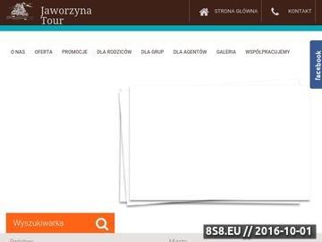 Zrzut strony Jaworzyna Tour oferuje obozy i kolonie letnie