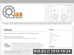 Miniaturka domeny www.jbpartners.pl