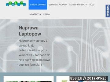 Zrzut strony JD Serwis Polska