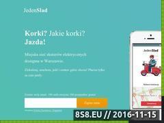 Miniaturka domeny www.jedenslad.pl