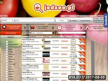 Zrzut strony Jedzeo.pl