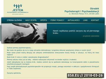 Zrzut strony Psychoterapia, Psycholog Lublin