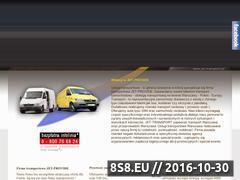 Miniaturka domeny www.jet-transport.pl