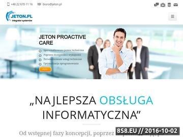 Zrzut strony Usługi informatyczne, outsourcing Warszawa