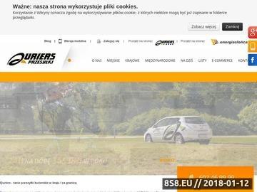 Zrzut strony Kurier Warszawa
