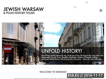 Zrzut strony Jewish uprising tour