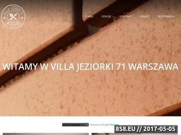 Zrzut strony Tani nocleg Warszawa - Hostel Jeziorki71