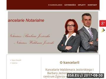 Zrzut strony Czynności notarialne