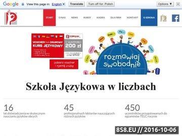 Zrzut strony Angielski Lublin