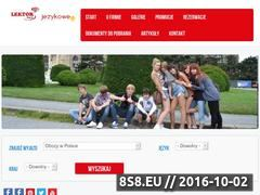 Miniaturka domeny www.jezykowe.eu