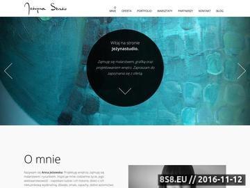 Zrzut strony Projektowanie i aranżacja wnętrz - Jeżyna Studio