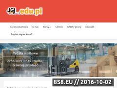 Miniaturka domeny www.jgl.edu.pl