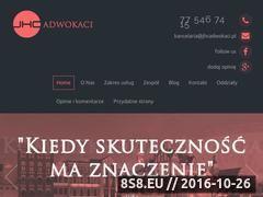 Miniaturka domeny www.jhcadwokaci.pl