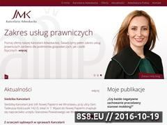Miniaturka domeny jmkadwokat.pl