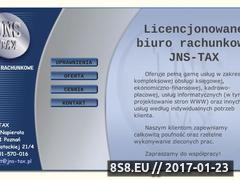 Miniaturka domeny www.jns-tax.pl