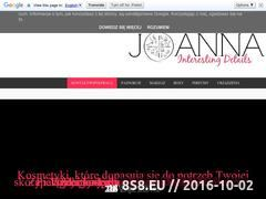 Miniaturka domeny joanna-interestingdetails.blogspot.com