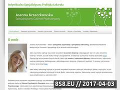 Miniaturka domeny www.joannakrzaczkowska.pl