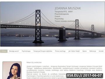 Zrzut strony Joanna Muszak - Coach