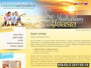 Zrzut strony Apartamenty blisko morza w Sopocie - joasia.com.pl