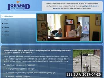 Zrzut strony Indywidualna praktyka lekarska Jolanta Hańcka - wybielanie zębów
