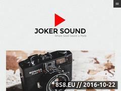 Miniaturka domeny www.jokersound.pl