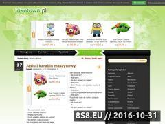 Miniaturka domeny www.joketown.pl