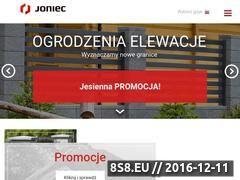 Miniaturka domeny www.joniec.pl