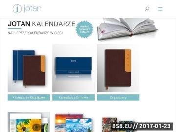 Zrzut strony Kalendarze biurkowe w atrakcyjnej cenie