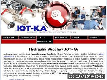 Zrzut strony Hydraulicy Wrocław - JOT KA