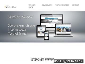 Zrzut strony Strony internetowe Kraków
