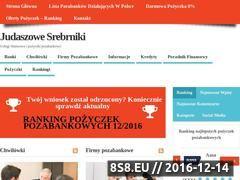 Miniaturka domeny judaszowesrebrniki.pl