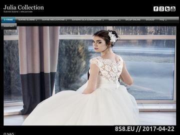 Zrzut strony Suknie ślubne, suknie wieczorowe, suknie dla dziewczynek