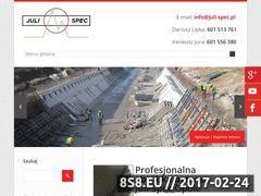 Miniaturka domeny julispec.pl