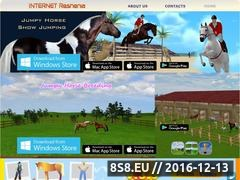 Thumbnail of Jumpy Horse Website