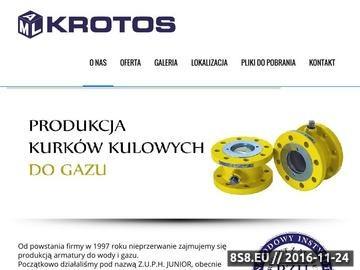 Zrzut strony ZUPH JUNIOR Kurki